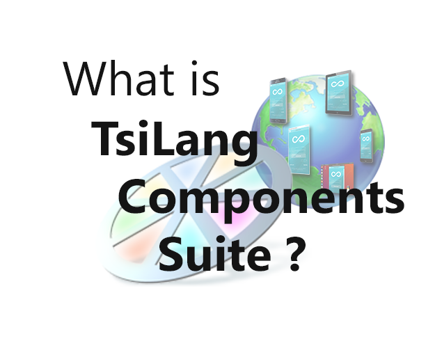 What is TsiLang Components Suite?