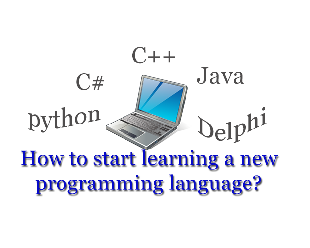 Blog post: How to start learning a new programming language